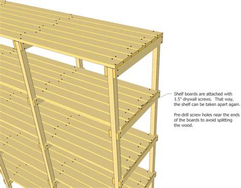 wood shelf plans.aspx Image