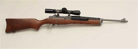 Wood Stocked 223 Rifle