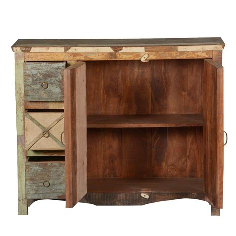 wood storage cabinet with drawers.aspx Image