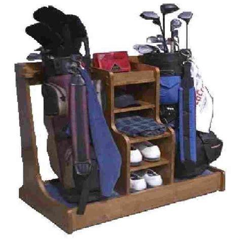 wood woodworking plans golf bag rack Image
