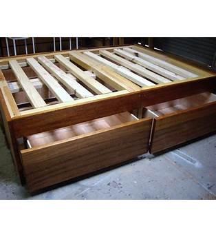 Wood Bed Base Plans
