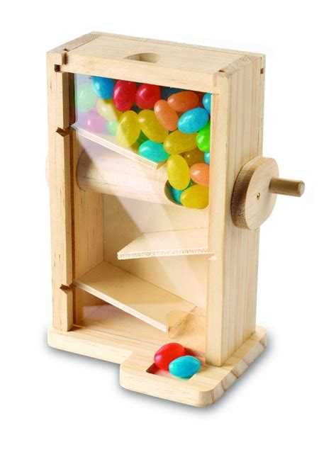 Wood candy dispenser kit Image