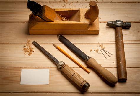 Wood carpenter tools Image