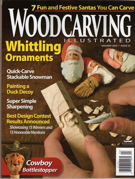 Wood carving magazine Image