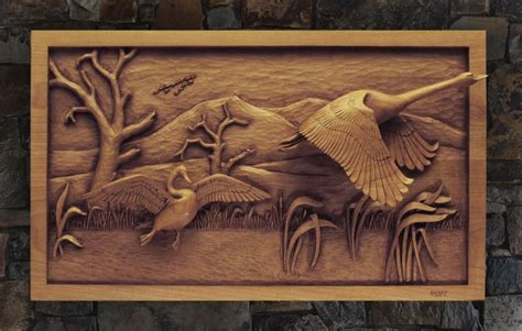 Wood carving patterns relief Image