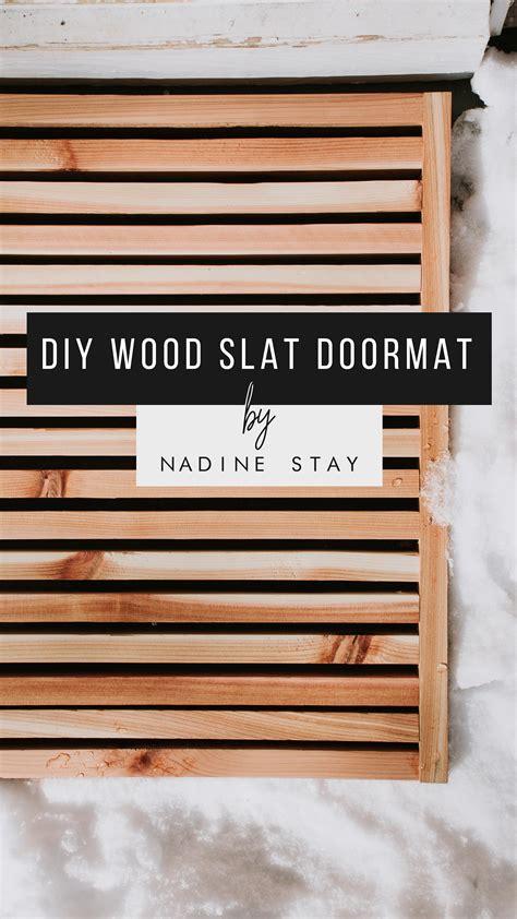 Wood doormat plans Image