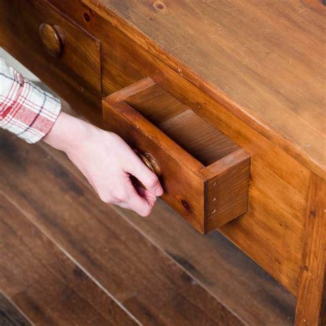 Wood dresser drawers sticking Image
