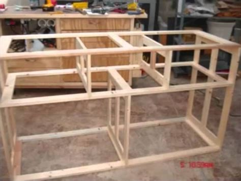 Wood dresser plans how to build a dresser diy timelapse woodwork build of a wooden timber dresser Image