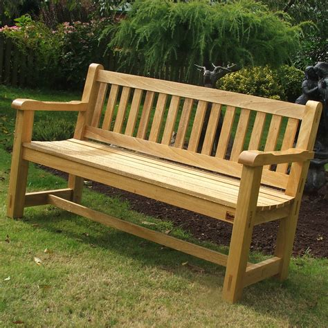 Wood for garden bench Image