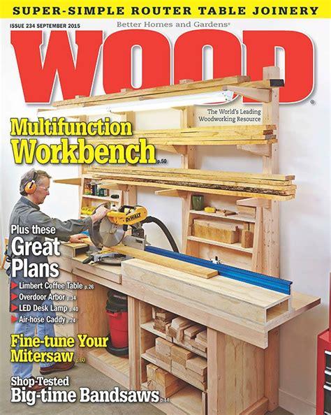 Wood magazine plans Image