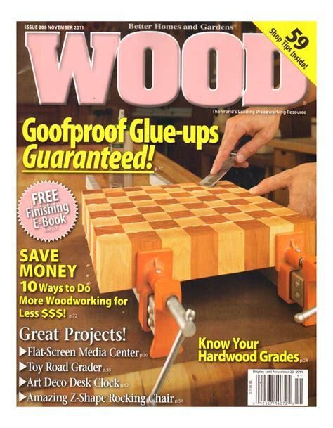 Wood magazine subscription deals Image