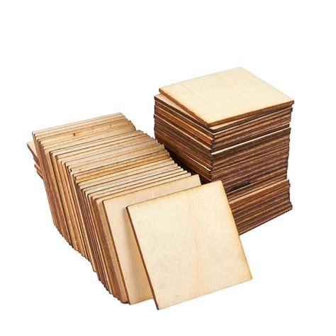 Wood pieces for crafts Image