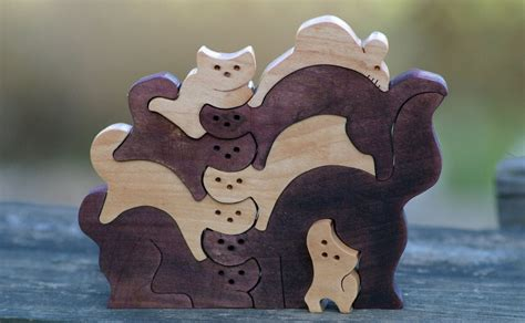 Wood Puzzles Patterns Scroll Saw Image