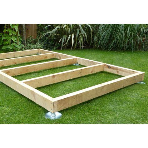 Wood shed base Image