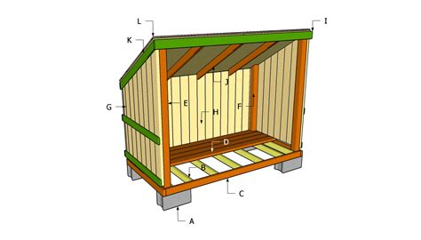 Wood shed plans Image
