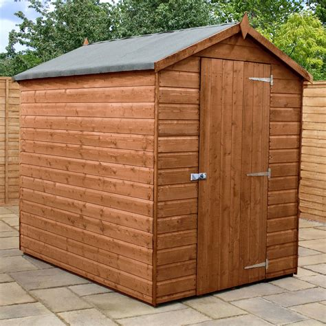 Wood storage shed Image