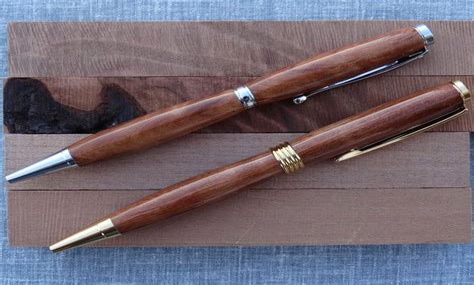 Wood turned pens Image