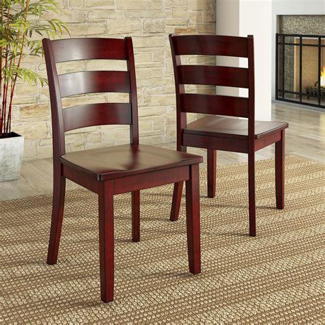 Woodard Ladder Back Dining Chair (Set of 2)