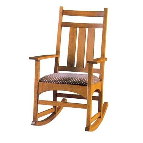 woodcraft rocking chair plans