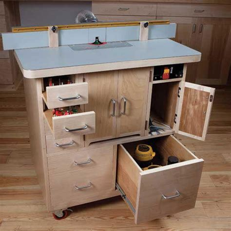 Woodcraft Magazine Router Table Plans