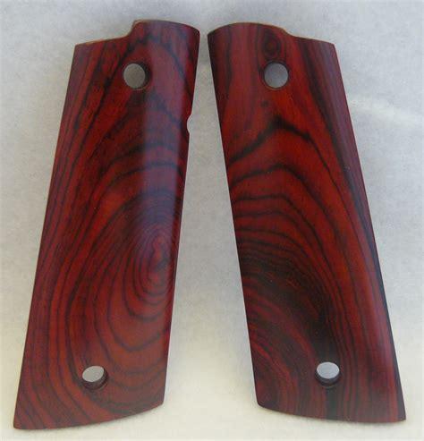 Wooden 1911 Pistol Grips