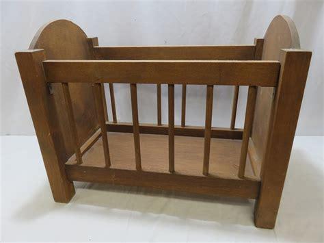 wooden baby doll crib.aspx Image