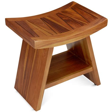 wooden bench for bathroom.aspx Image
