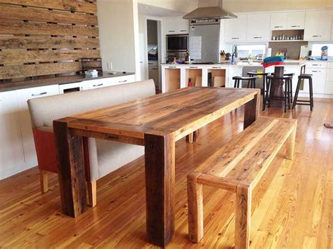 wooden bench plans for kitchen table.aspx Image
