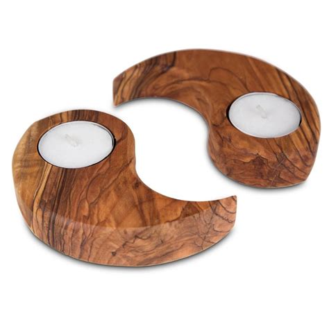wooden candles.aspx Image