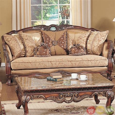 Wooden Carving Furniture Sofa