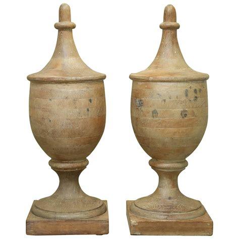 wooden finials Image