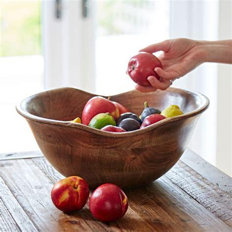 wooden fruit bowl.aspx Image
