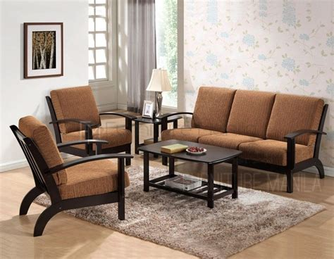 Wooden Furniture Sofa Set Design