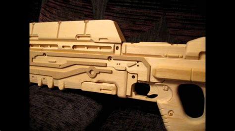 Wooden Halo Assault Rifle