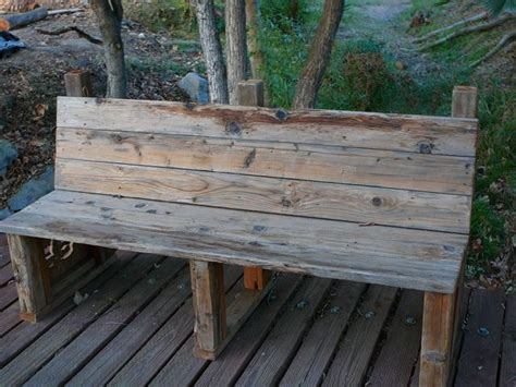 wooden outdoor seating.aspx Image