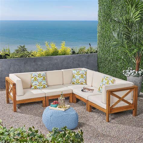 Wooden Outdoor Sofa