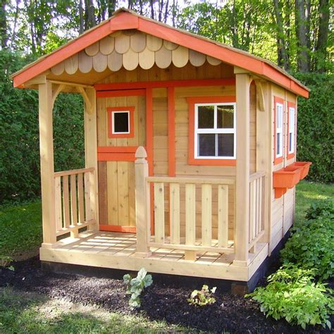 wooden playhouse for kids.aspx Image