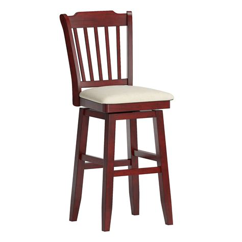 wooden stools with back.aspx Image
