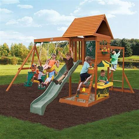 wooden swing sets for older kids.aspx Image