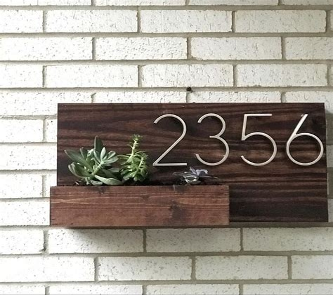 Wooden address box Image
