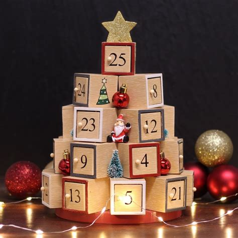 Wooden advent calendars Image
