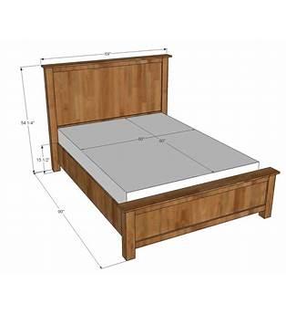 Wooden Bed Frames Plans Queen