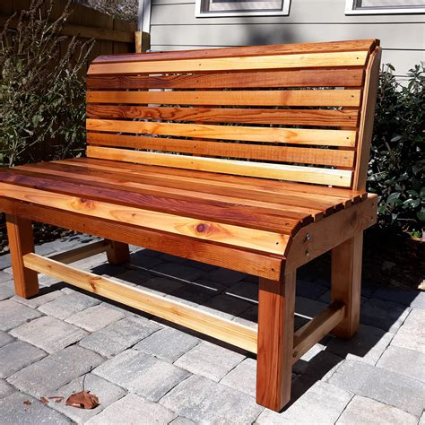 Wooden bench Image