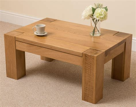 Wooden bench as coffee table Image