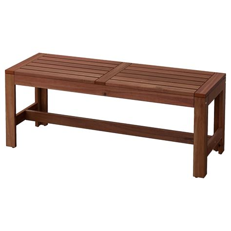 Wooden bench ikea Image