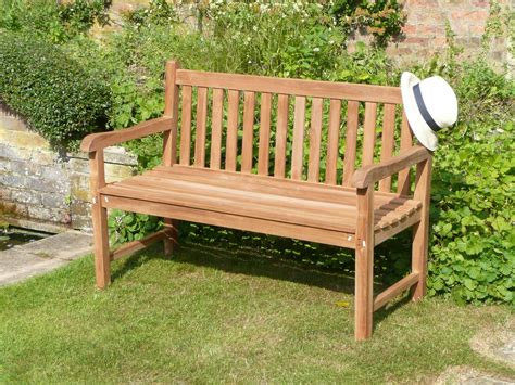 Wooden bench london Image