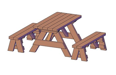 Wooden bench measurements Image