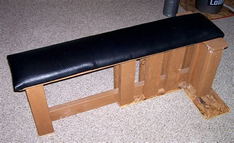 Wooden bench press Image