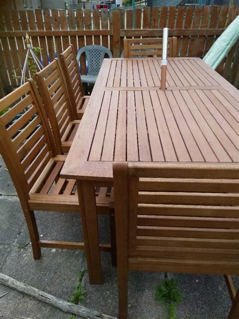 Wooden bench table for sale Image