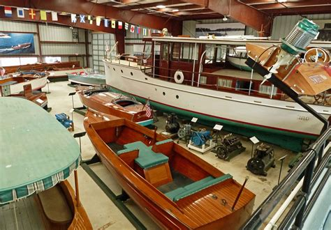 Wooden boat museum Image